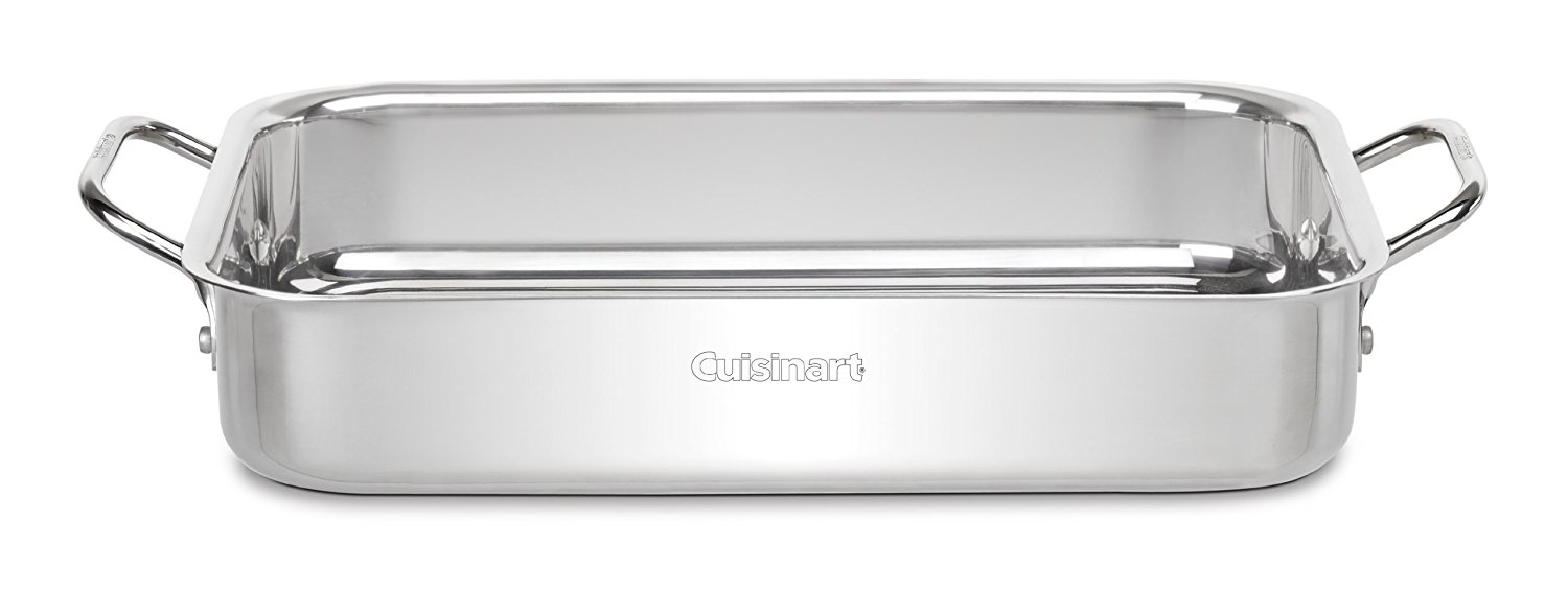 Cuisinart 7117-135 Chef's Classic Stainless 13.5 Inch Lasagna Pan